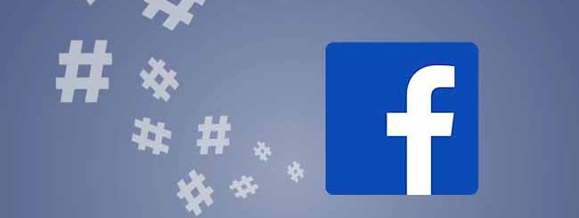 Usare hashtag su pagine Facebook