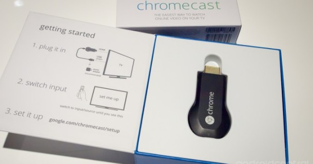 Google Chromecast: Estensione per Chrome ed app per Android