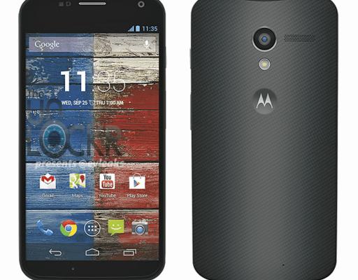Motorola Moto X: Immagine ufficiale