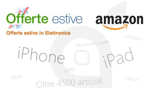 Offerte Amazon estate 2013