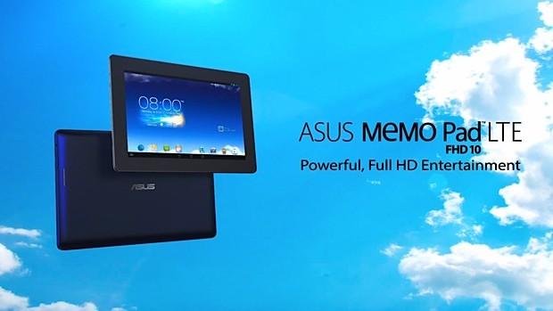 ASUS MeMo Pad 10 FHD LTE: Caratteristiche tecniche rivelate da un video ufficiale