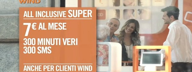 All Inclusive Super: Novità offerta Wind