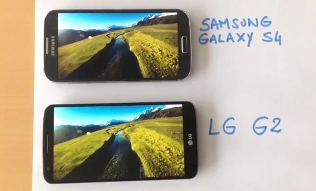 Confronto dimensioni LG G2, Galaxy S4, HTC One e Xperia Z