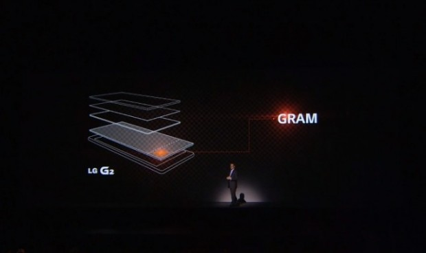 "LG G2 riduce consumi con ""graphic RAM"""
