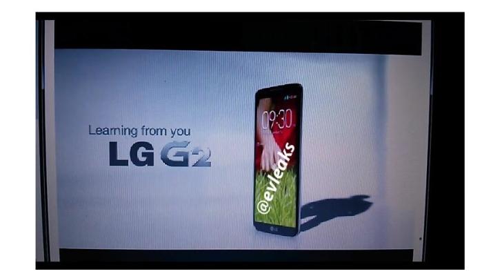 Presentazione LG G2 in diretta streaming