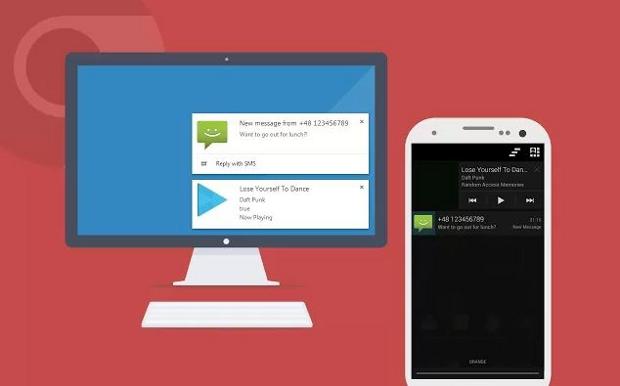 Krome: Notifiche smartphone Android su PC