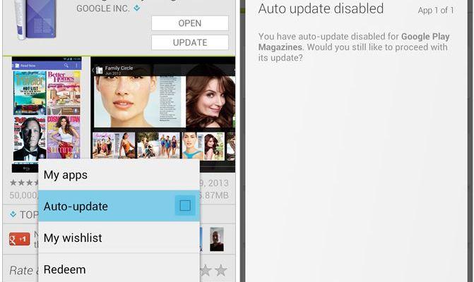Play Store 4.3.11: Novità gestione degli aggiornamenti