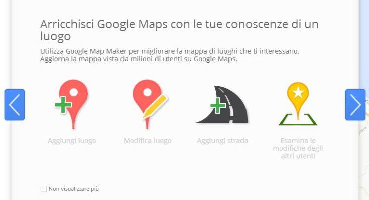 Google Map Maker in Italia
