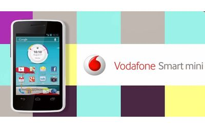 Alzare volume suoneria Vodafone Smart Mini