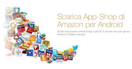 Amazon App Shop festeggia il suo primo anno con 10 applicazioni