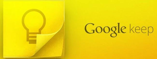 Google Keep e l'integrazione con Drive e YouTube