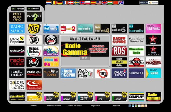 Italia.fm: Ascoltare tutte le radio online