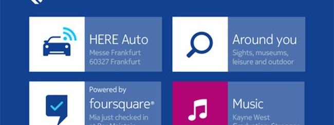 Nokia HERE Auto: Novità navigazione per autovetture