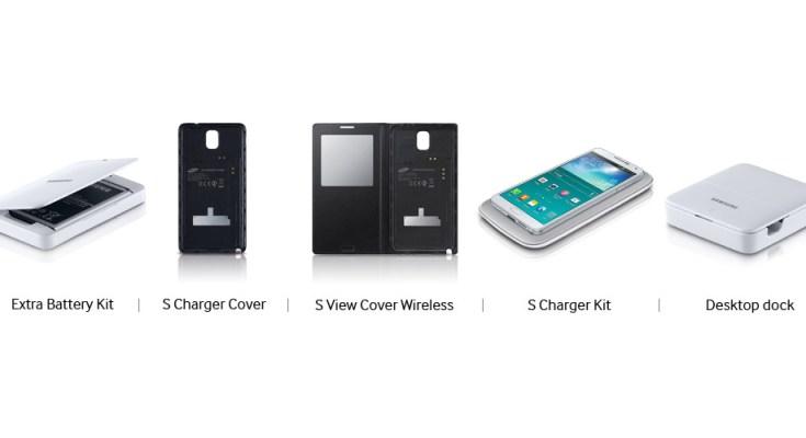 Samsung Galaxy Note 3: Accessori ufficiali