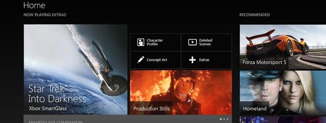 SmartGlass per Xbox One: Novità