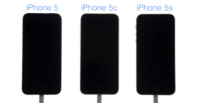 iPhone 5, iPhone 5C e iPhone 5S: Boot speed test