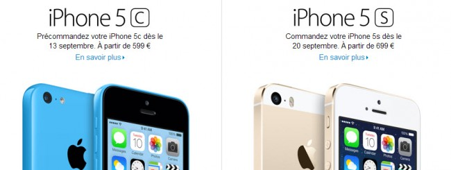 iPhone 5S: Prezzi in Europa in aumento