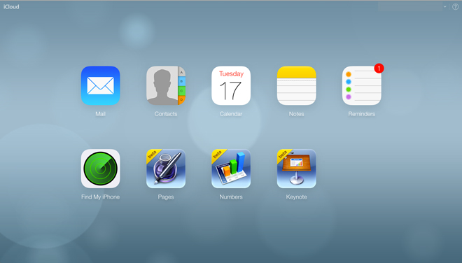 Download nuovo iCloud e iOS 7