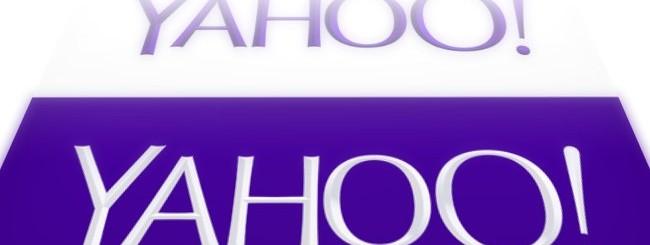 Yahoo presenta nuovo logo