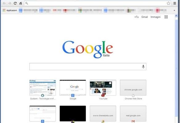 Google Chrome: Riattivare vecchia grafica e interfaccia