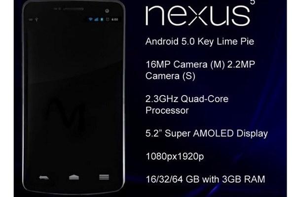 Nexus 5: Possibili prezzi