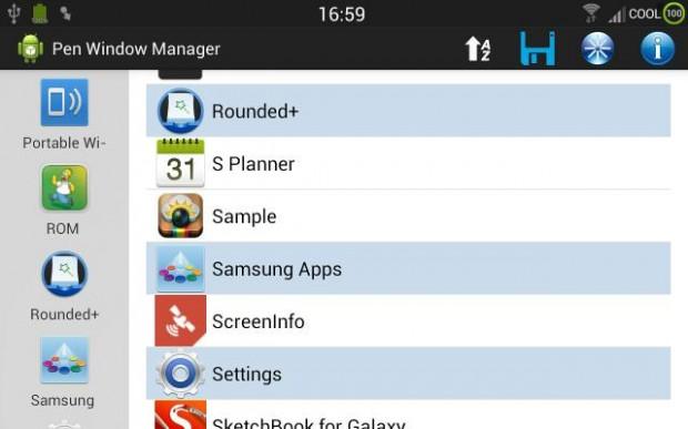 Pen Window Manager: Applicazioni in finestre su Samsung Galaxy Note 3