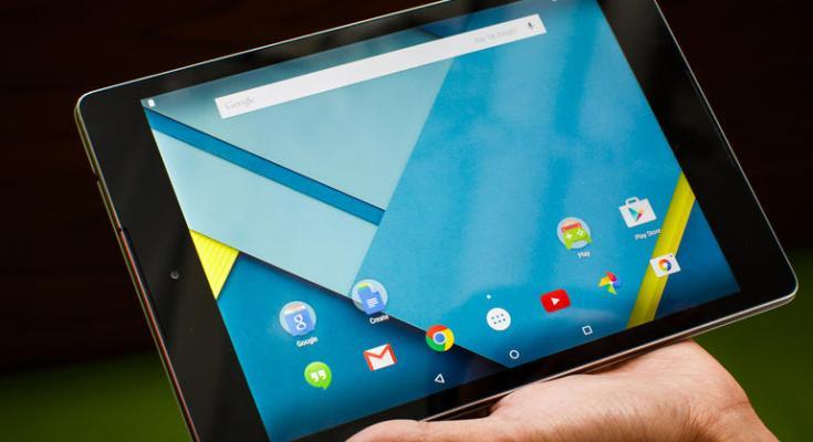 Nexus 9 Android Lollipop Release