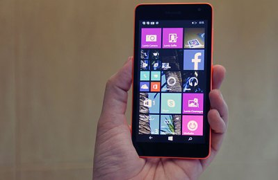 Lumia 535 touchscreen