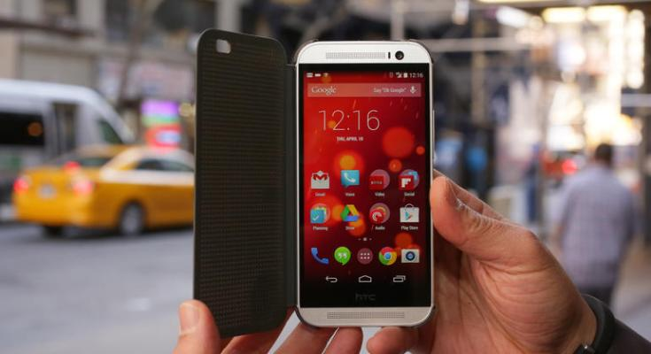 Android Lollipop HTC One M8