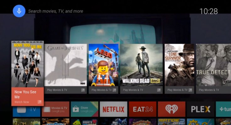 Google Android Tv Launcher