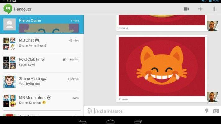 Google Hangouts Stickers