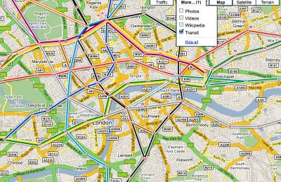 Google Transit Milano