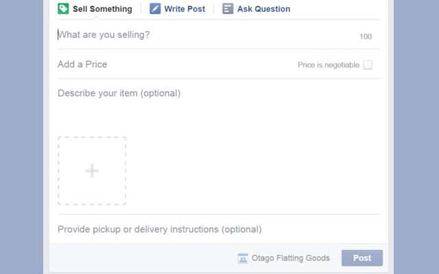 vendere facebook