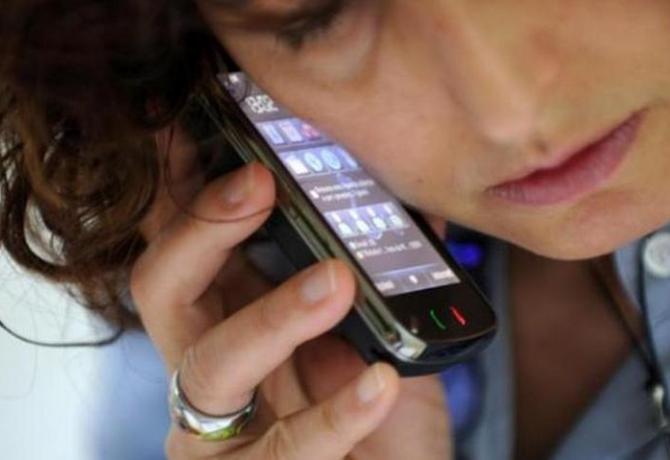 uso sbagliato dello smartphone
