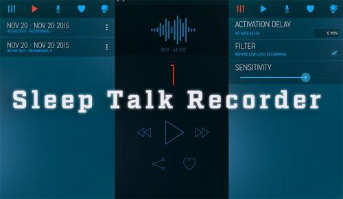 app Sleep Talk Recorder