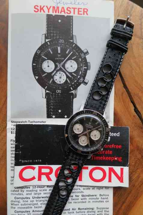 The Croton Skymaster on its original pamphlet (photo credit: seller-Christian)