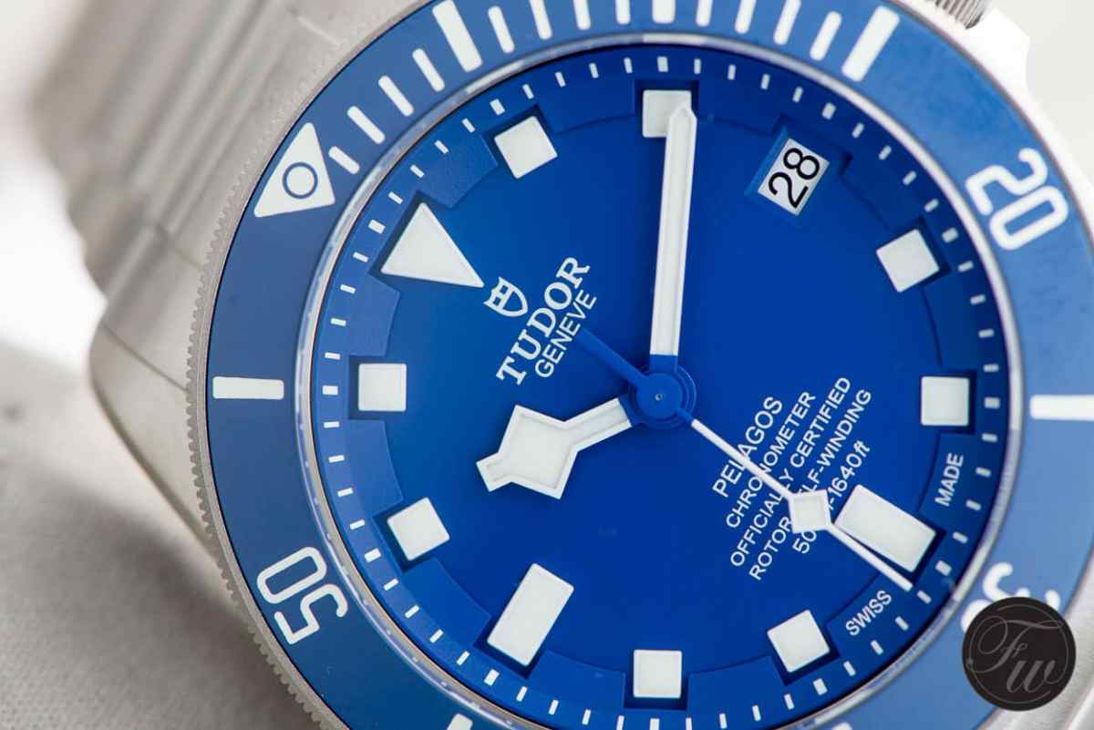 Tudor Pelagos Blue - Top 5 BaselWorld Watches