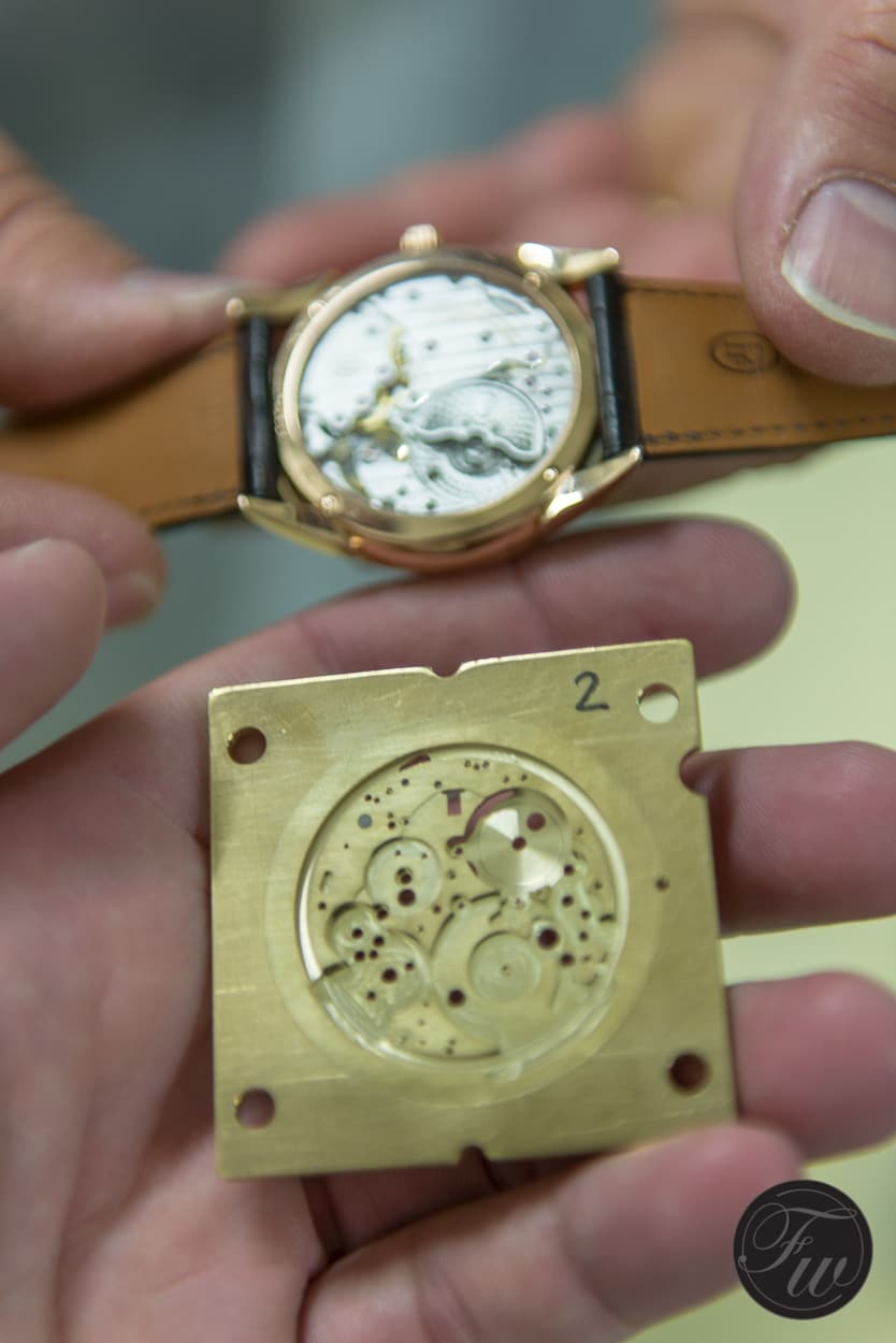 Baseplate and final watch