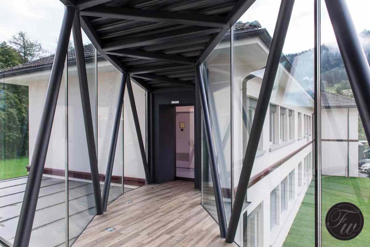 Corridor to watchmakers