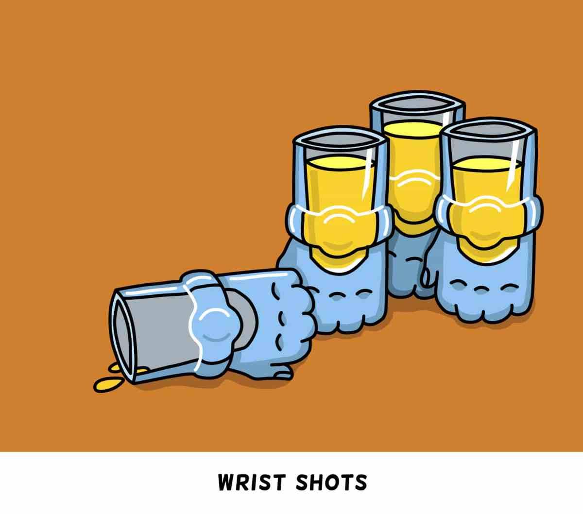 Wrist shots