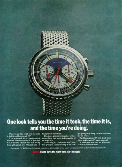 The original Bulova Stars and Stripes advertisement