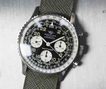 The Breitling 809 Cosmonaute head on