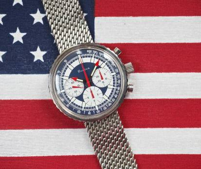 Despite looking like a watch made for America's bicentennial in 1976 and the brand's longtime affiliation with New York and the USA in general, the Bulova Stars and Stripes was actually produced in 1970 and seemingly for only one year