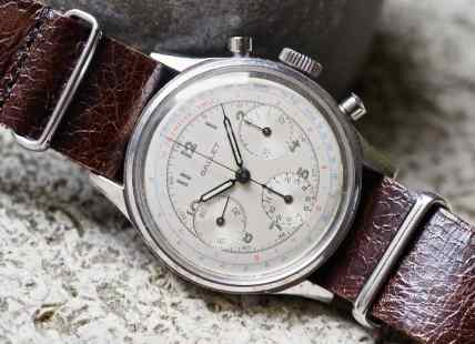 The Gallet Multichron 12 looks good on just about any kind of strap