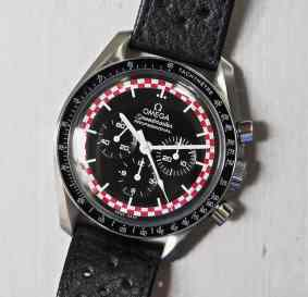 The Speedmaster TinTin is a wonderful study in contrast