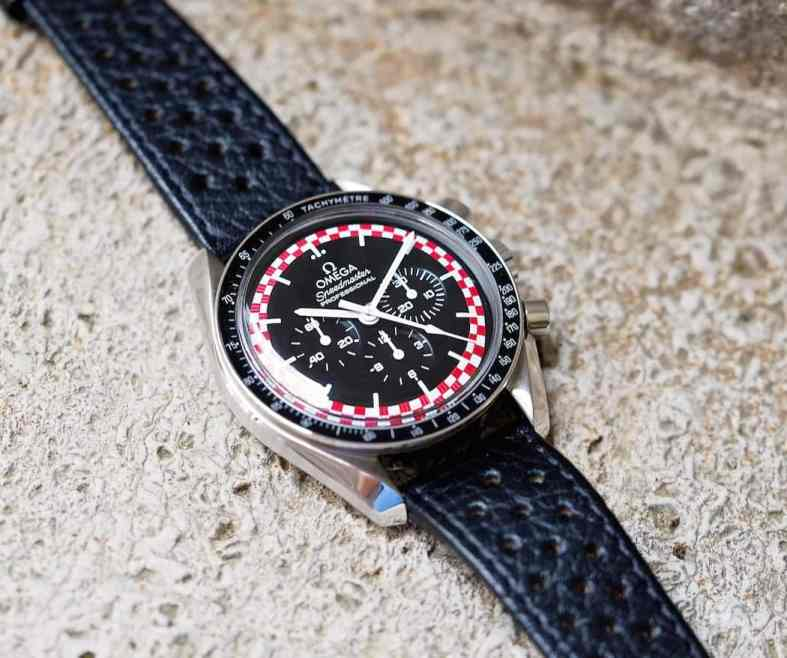 Short production plus a racing style dial make the Speedmaster TinTin quite compelling for collectors.