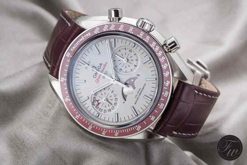 Omega Speedmaster Moonphase Platinum LE1000
