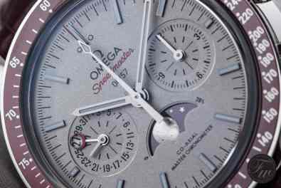 Omega Speedmaster Moonphase Platinum LE1003