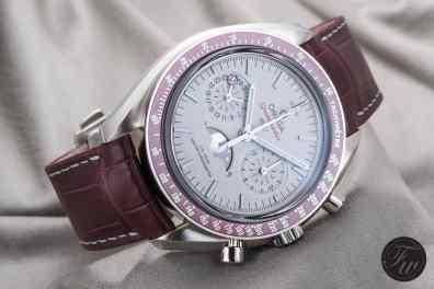 Omega Speedmaster Moonphase Platinum LE1005