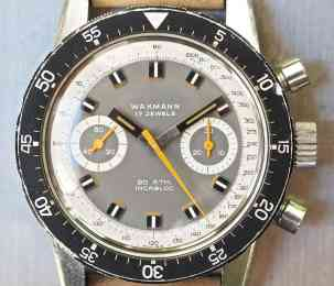 In my opinion, the Wakmann Big Boy makes a strong case as a visually more compelling watch versus the very similar Heuer Autavia 3646C